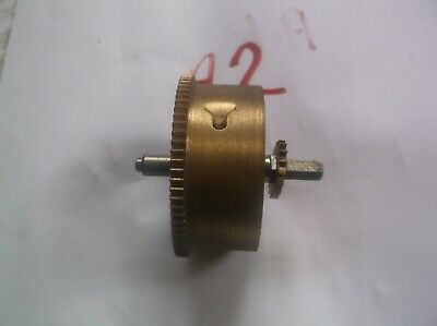 Perivale Mainspring Barrel  From An Old   Mantle Clock  Ref A2