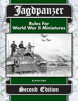 Greenfield Hobby Historical Mini Rules Jagdpanzer (2nd Edition) SC MINT