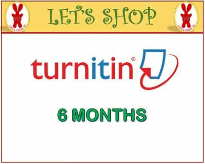 Turnitin Student Account Unlimited Word (6 Months)