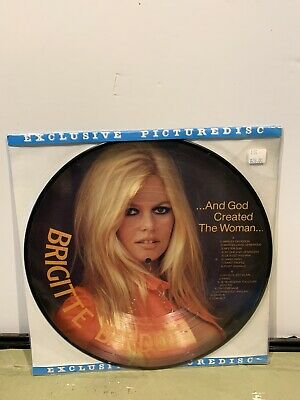 BRIGITTE BARDOT and god created the woman LP PICTURE Vinyl 83007 Sealed