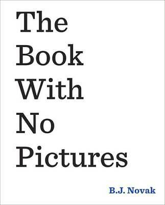 The Book With No Pictures, Novak, B. J., New,