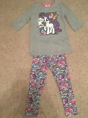 Girls My Little Pony Top And Leggings Set