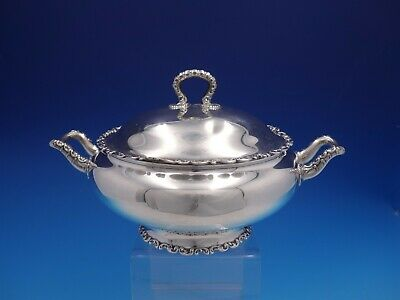 Louis XV by Whiting-Gorham Sterling Silver Covered Casserole Dish (#4184)