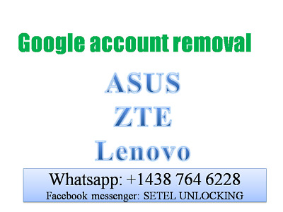 Google Account Removal Bypass Frp Lock Zte Frp Asus Frp Lenovo Frp Motorola