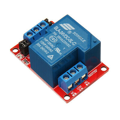 BESTEP 1 Channel 24V Relay Module 30A With Optocoupler Isolation Support High An