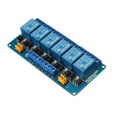 BESTEP 6 Channel 12V Relay Module High And Low Level Trigger For Arduino