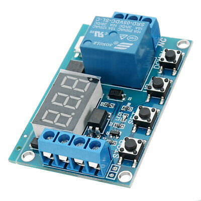 DC 6V To 30V One Way Relay Module Delay Power Off Disconnection Trigger Delay