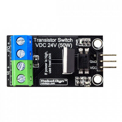 5Pcs RobotDyn Transistor MOSFET DC Switch Module 5V Logic DC 24V 30A With Optoco
