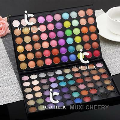 120Colors Eye Shadow Cosmetic Makeup Shimmer Matte Eyeshadow Palette Earth Color