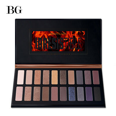 Beauty Glazed 20 Colors Eyeshadow Pallete Shimmer Matte Pigment Glitters Makeup