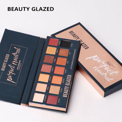Beauty Glazed Matte Eyeshadow Pallete 14 Color Glitter Eye shadow Make up