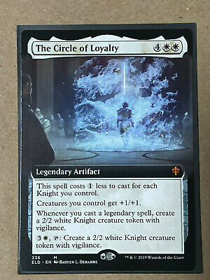Magic the Gathering MTG Throne of Eldraine The Circle of Loyalty 009//269