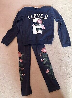 Girls Outfit Size 6-8yrs From H&M