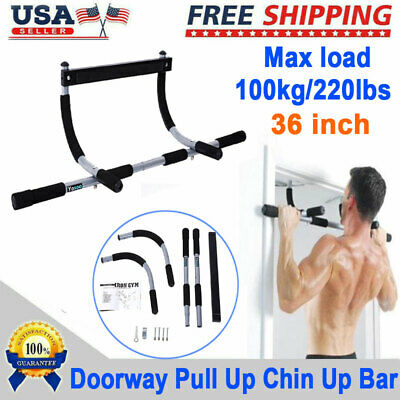 Doorway Chin Up Bar Pull Up Bar Sit Up Multi-function Home Gym Exercise Fitness