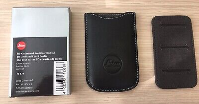 Leica Leather SD Card Pouch Wallet