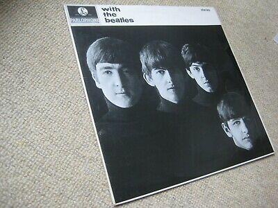 The Beatles With The Beatles LP STEREO 1965 GREAT AUDIO!!! [Ex+/Ex-]