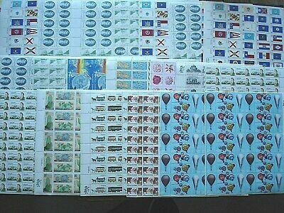 20 -  .13c to .20c Mint Sheets U.S Never Hinged Postage Stamps Face $154.00