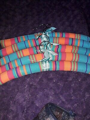 5 Americana Sharif Padded Hangers. Good used condition free postage