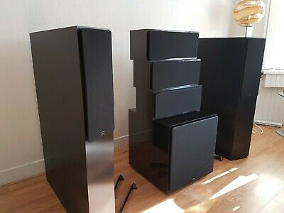 NHT speakers complete set    3.3 (2x), VS-2 (3x),  SW-3 and SA-3