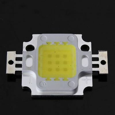 Lot de 5 x LEDs x 10W High Power LED Haute puissance DC 9-12V 800-900lm