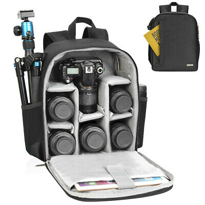 CADeN Camera Bag Backpack for Camera and Lens Protection Storage and Portability