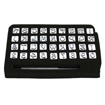 Leathercraft DIY Word 3/8 Inches Letter Digital Stamp Punch Tool Alloy Accessory