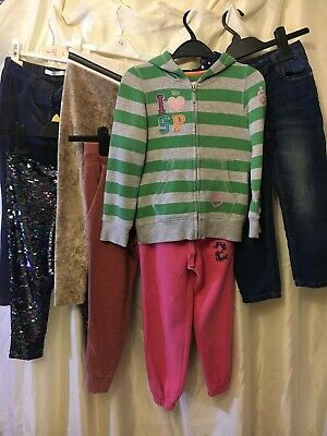 Girls Jogger Jeans Trouser Tracksuit Bundle Age 6