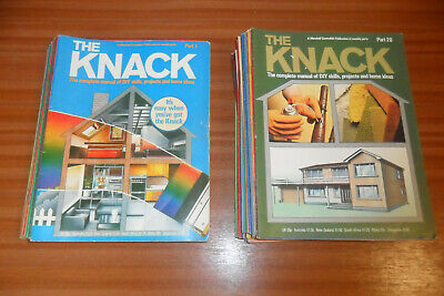 THE KNACK DIY Magazine Bundle - Issues 1-45 From 1980