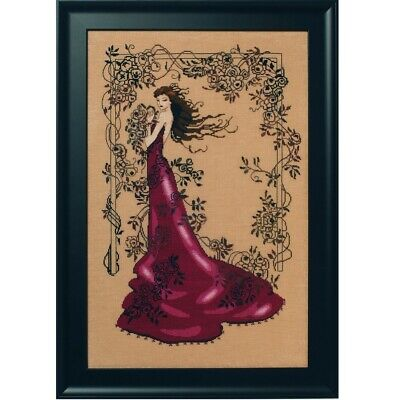 Lady of Mystery Red cross stitch chart