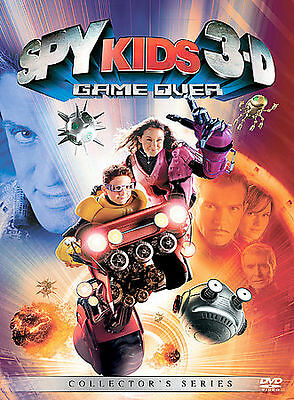 Spy Kids 3: Game Over DVD Includes both 2-D and 3-D Versions BUY 2 GET 1 FREE