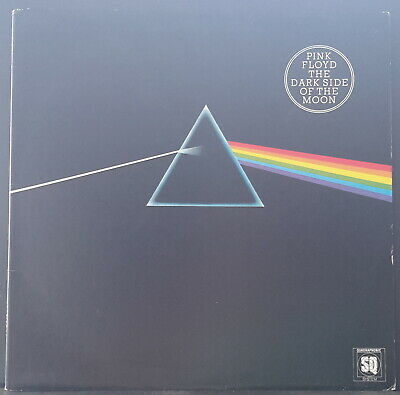 Pink Floyd - The Dark Side Of The Moon 1973 Harvest Quadraphonic+Posters Ex Con