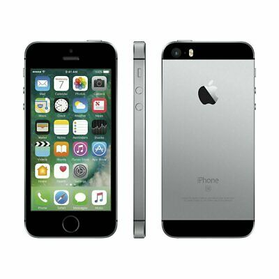 Apple iPhone SE - 64GB - Space Gray (AT&T) A1662 (CDMA + GSM) 100% Working