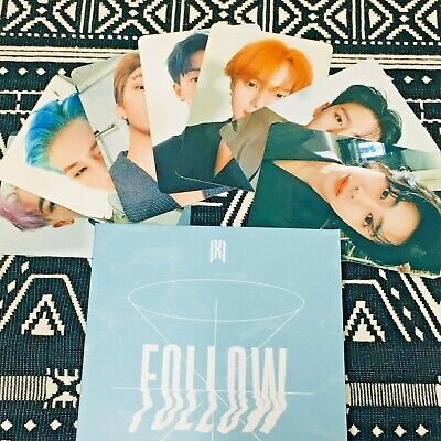 MONSTA X Photocard Follow Find You Official New Kihno Version All Member