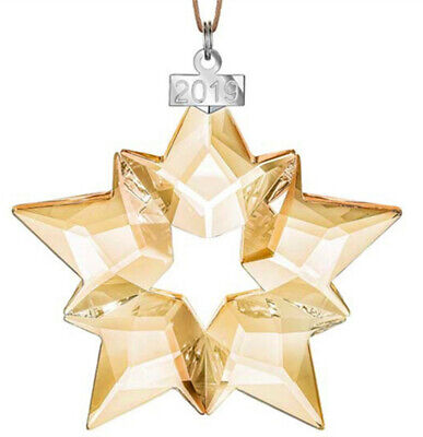 Crystal 2019 ANNUAL EDITION LARGE CHRISTMAS ORNAMENT 5427990 Snowflake Ornament