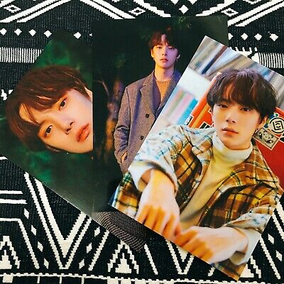 MONSTA X MINHYUK Follow Find You Album Large Photocard Kihno Ver. Official New