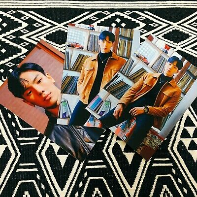 MONSTA X SHOWNU Follow Find You Album Large Photocard Kihno Ver. Official New
