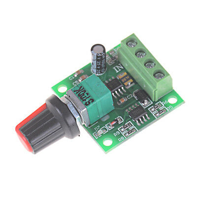 1.8V 3V 5V 6V 12V 2A Low Voltage Motor Speed Controller PWM 1803B M216 In✔GB