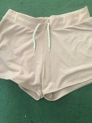 Girl's Pink Shorts By Next, Age 15 Years