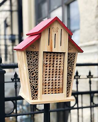 Bambeco Mason Bee Barn House Large Bee Hive Garden Nesting Box