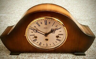 Vintage German 'Bentima' 8-Day Floating Balance Clock with Westminster Chimes