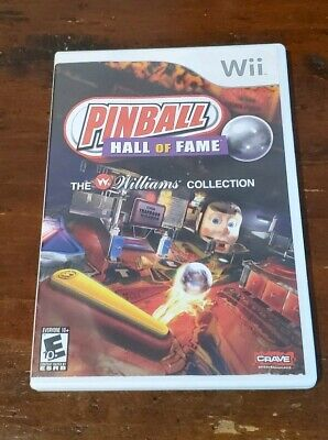 Pinball Hall of Fame: The Williams Collection (Nintendo Wii, 2008) CIB