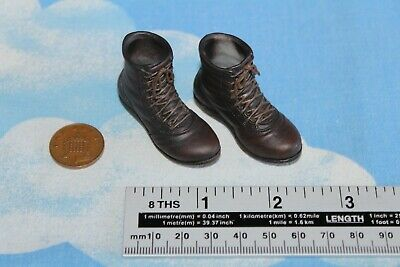 1//6 scale Toy Viking Vanquisher Peg Type War Lord Leather-Looking Boots