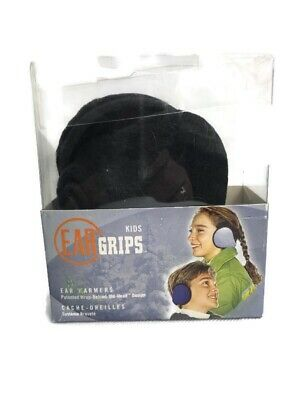 Kids Ear Muffs Boy Girl Warmers Winter Basic Polar Fleece Grip Wrap Soft Adjust