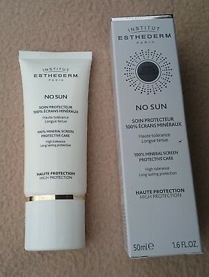 "Institut Esthederm Paris ""No Sun"" Soin Protection Cream High Tolerance 50 Ml"