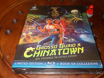 Grosso Guaio A Chinatown Limited Edition Booklet + 2 Blu Ray  .... Nuovo