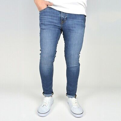 Jack & Jones Boy's Original JJ Liam Skinny Fit Blue Denim Jeans, BNWT