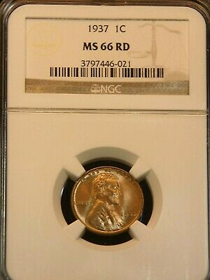 BUSINESS STRIKE 1966 LINCOLN CENT NGC MS66RD