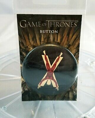 Game Of Thrones House Bolton Sigil Button *Brand New in Package * (D1)