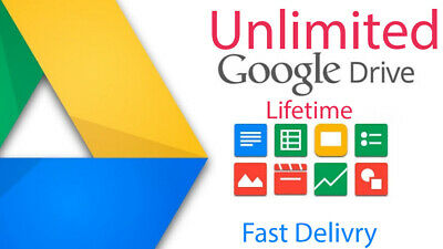 ✅ Unlimited ✅ Google Drive Cloud Storage Account ✅ Lifetime ✅ Existing Gmail