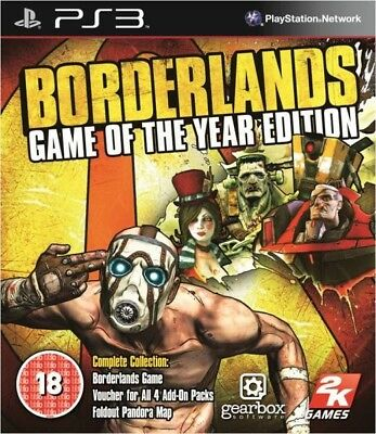 Jeu BORDERLANS GOTY EDITION (Neuf sous Blister) - PS3 - Version UK